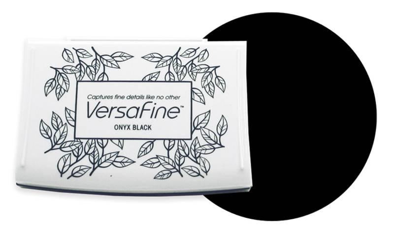 VersaFine Inkpad – 082 Onyx Black
