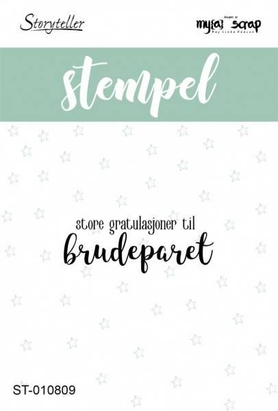 Storyteller stempel - Brudeparet