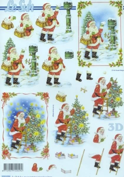 3D ark - julenisse