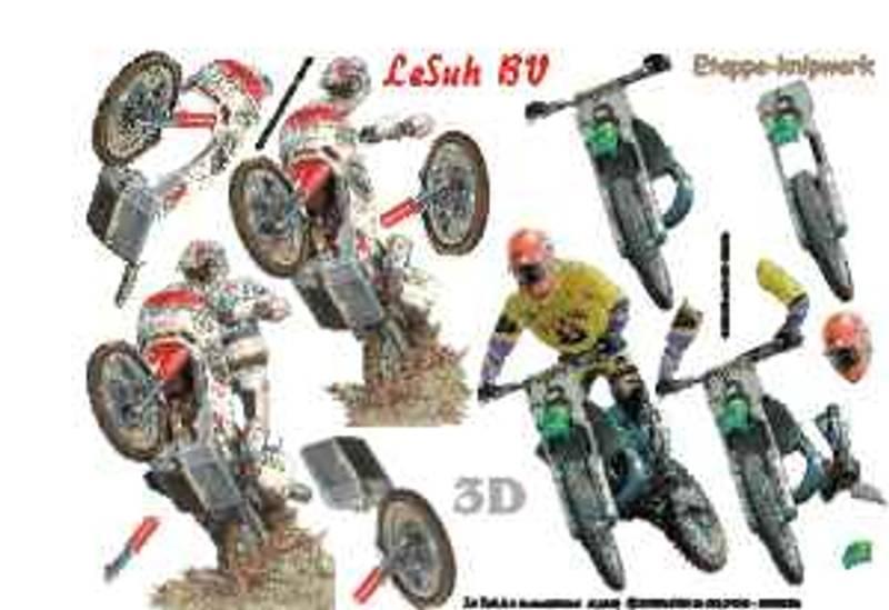 3D ark - Motorsykkel