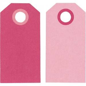 Bilde av Manillamerker, rosa, str. 6x3