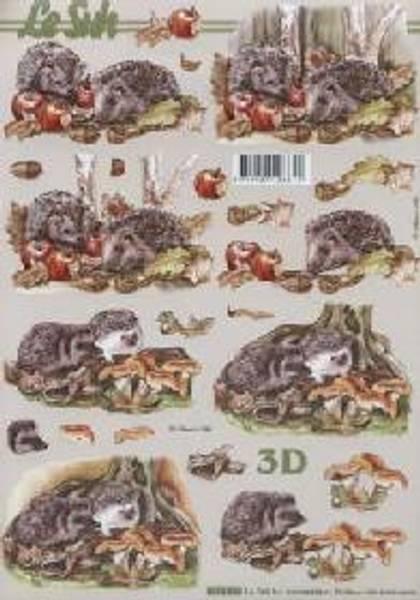3D ark - pinnsvin